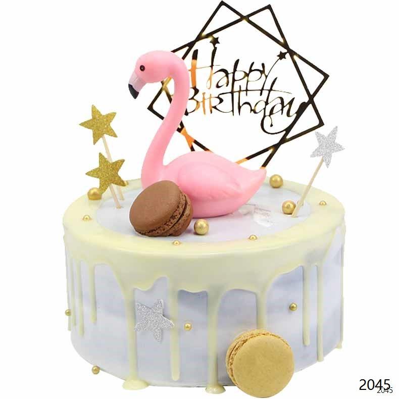 网红蛋糕/火烈鸟