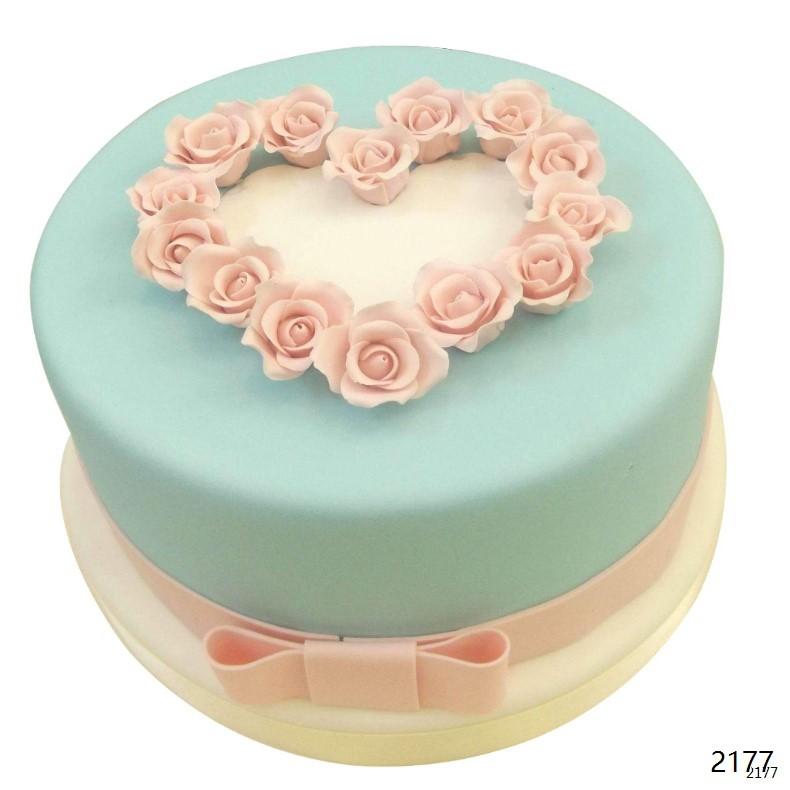 翻糖蛋糕/倾心相遇