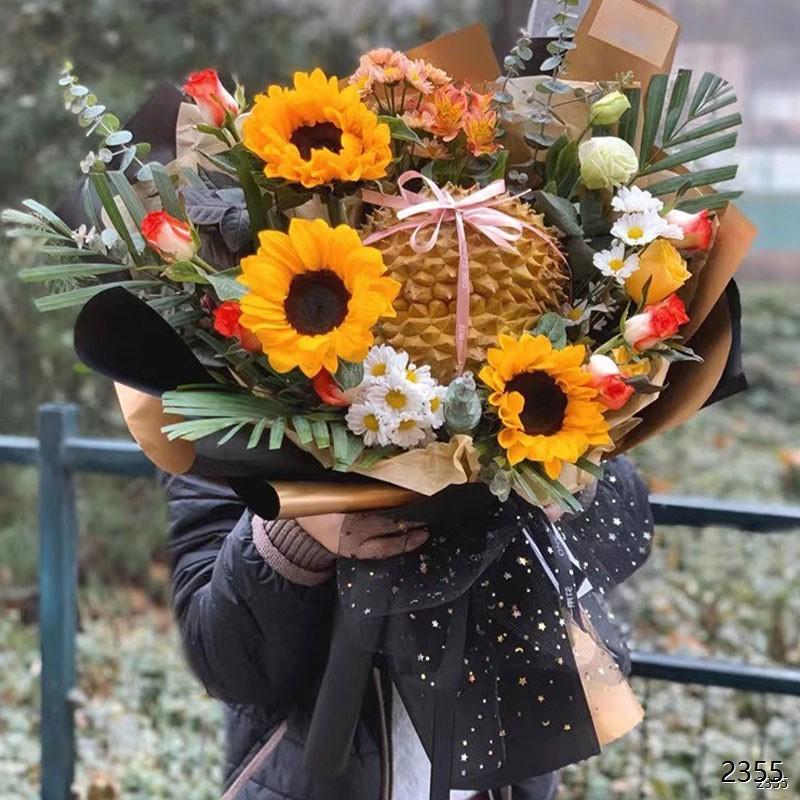 向日葵水果花束