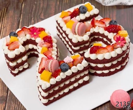 2个数字蛋糕/需要什么数字备注