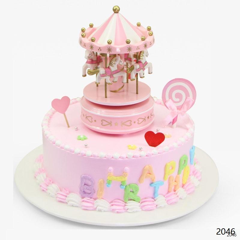 网红蛋糕/旋转木马