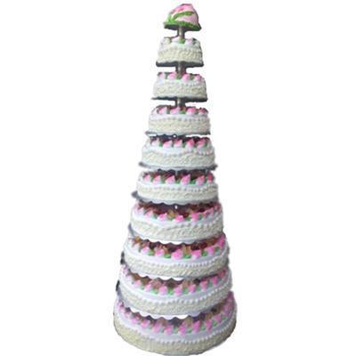 多层祝寿蛋糕/寿福无边