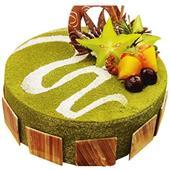 抹茶蛋糕/绿色烂漫