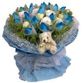 爱情鲜花/蓝色深情