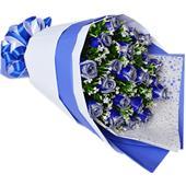 爱情鲜花\蓝色佳人