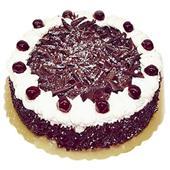 圆形黑森林蛋糕/雪绒花